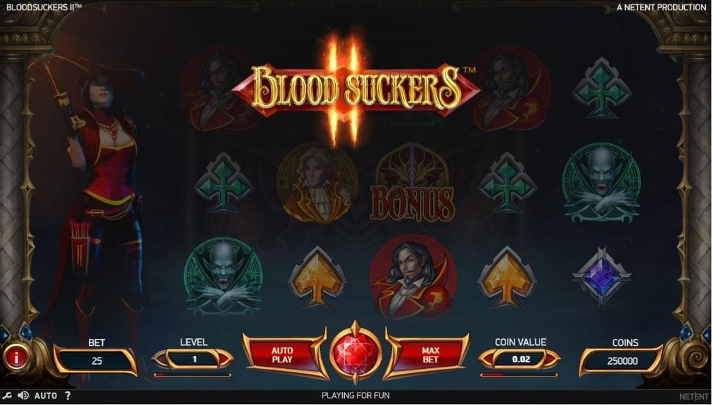Blood Suckers II Slot Gameplay