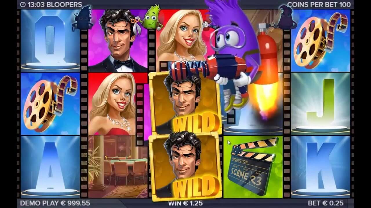 Bloopers Slot Gameplay