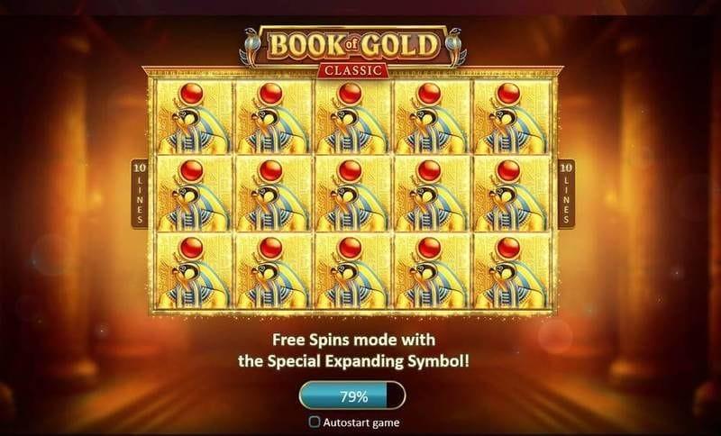 Book of Gold Classic Bonus