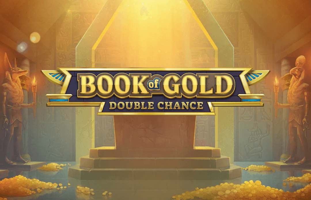 book of gold double chance slots game