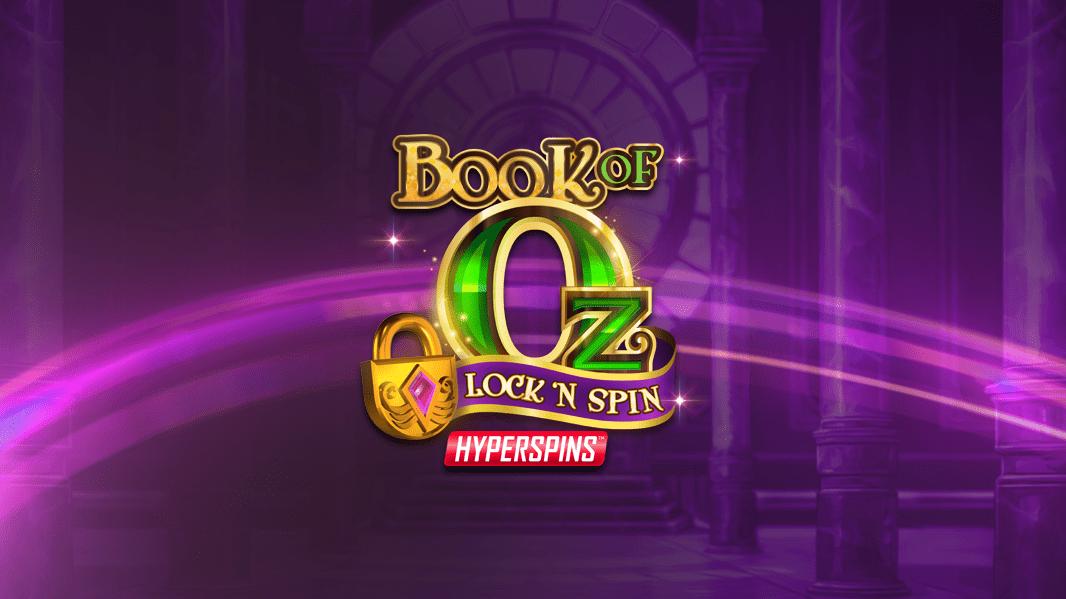 Book of Oz Lock 'N Spin logo casino