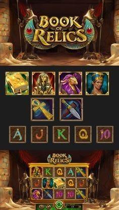 Book of Relics Slot Bonus