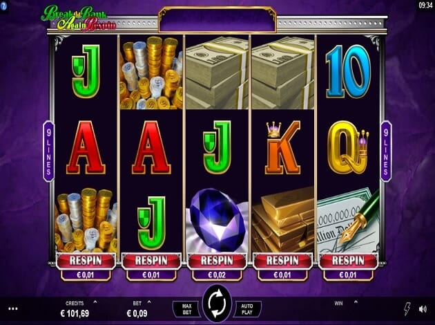 Break Da Bank Again Respin Slot Gameplay