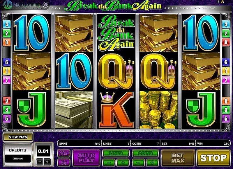 Break Da Bank Again Slot Bonus