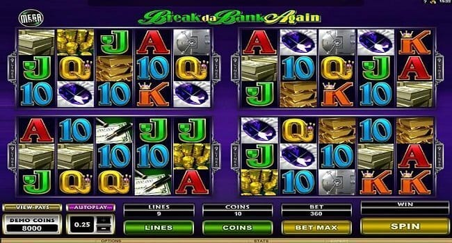 Break da Bank Again Slot Gameplay