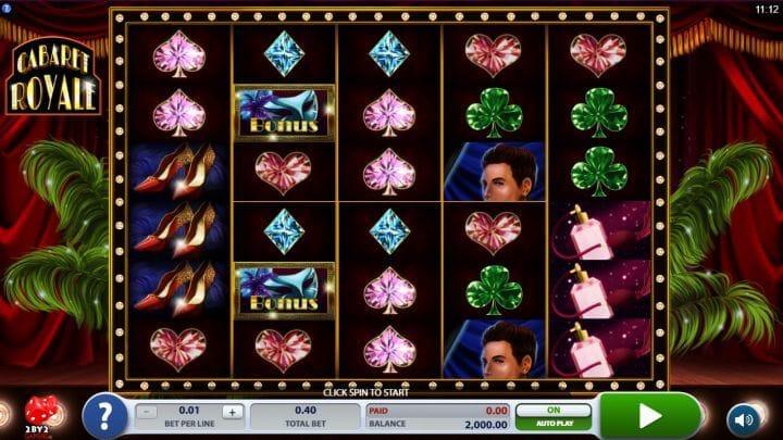 Cabaret Royale Slot Bonus