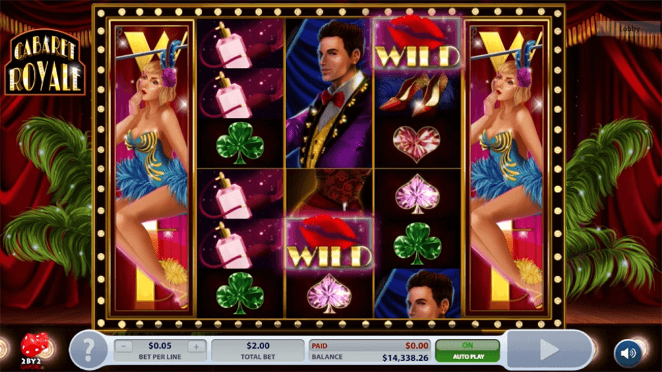 Cabaret Royale Slot Gameplay
