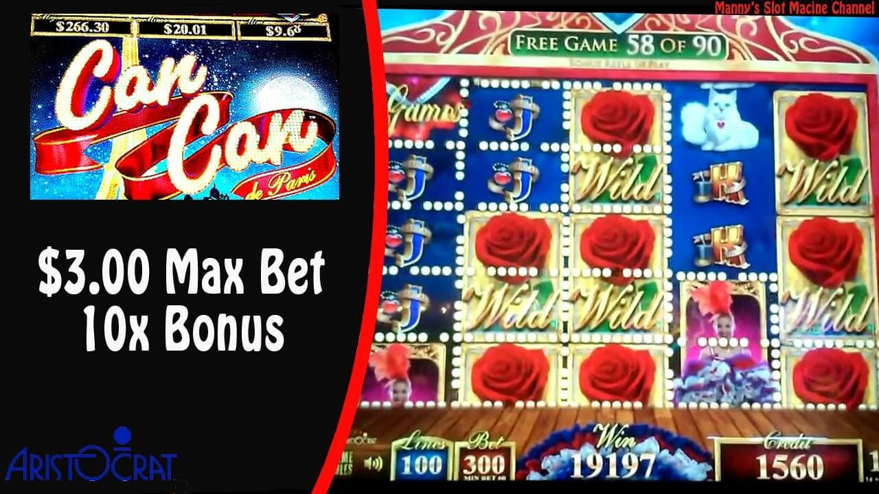 Can Can Slot Bonus