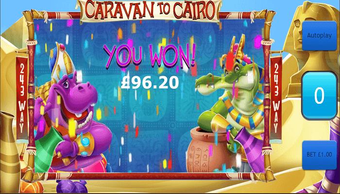 Caravan to Cairo Slot Bonus