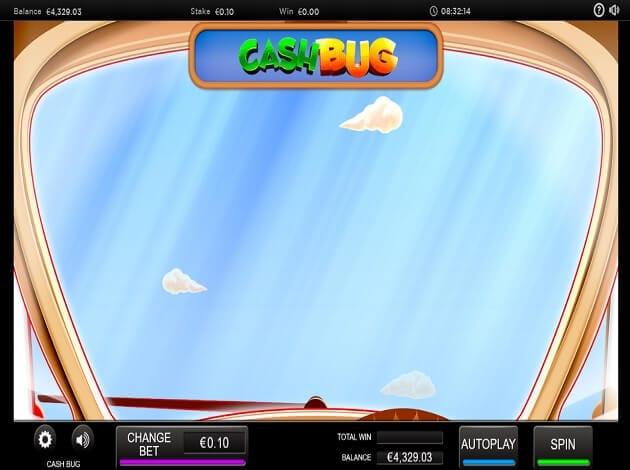 Cash Bug Slot Bonus