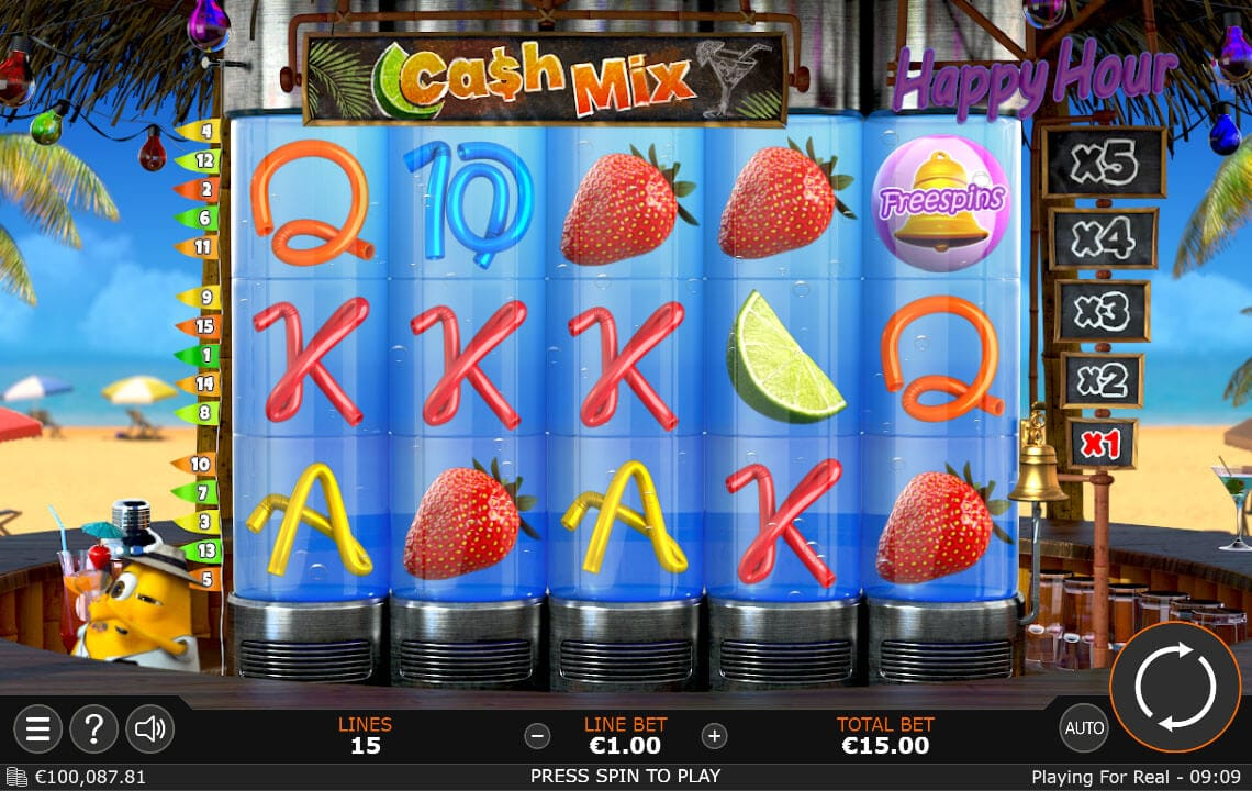 Cash Mix Slot Gameplay