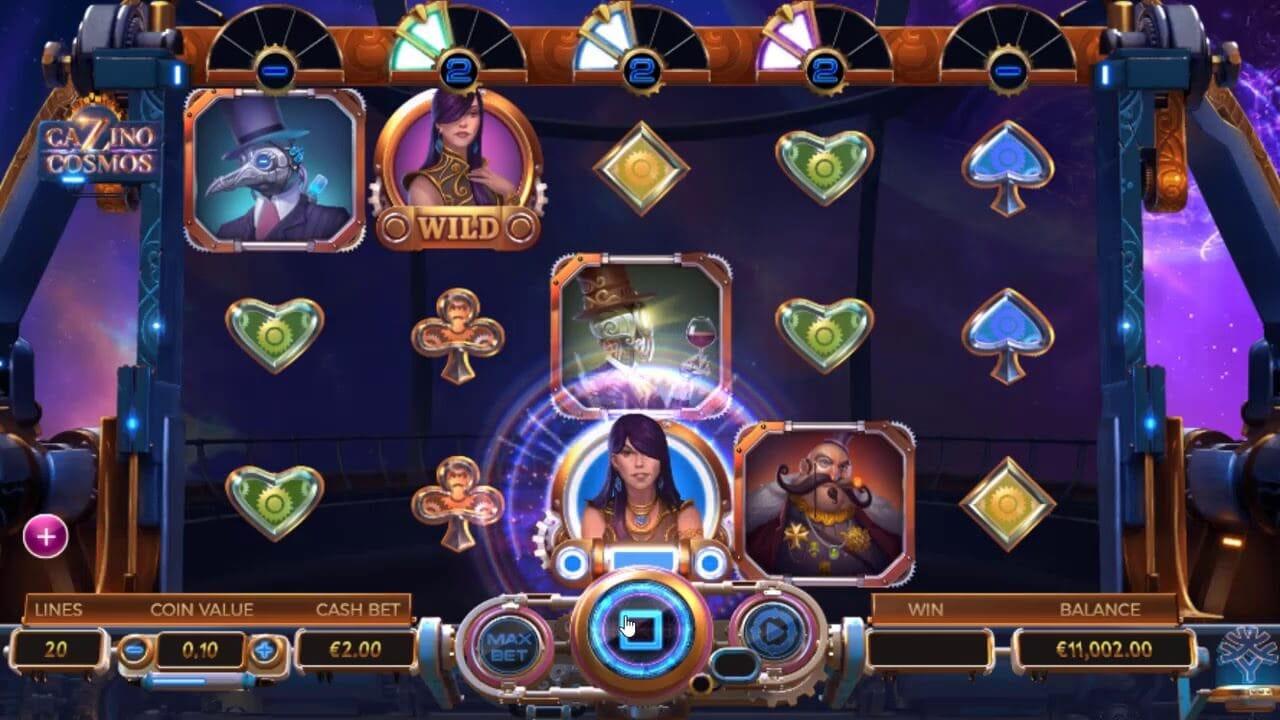 Cazino Cosmos Slot Gameplay