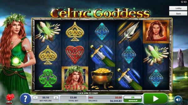 Celtic Goddess Slot Gameplay