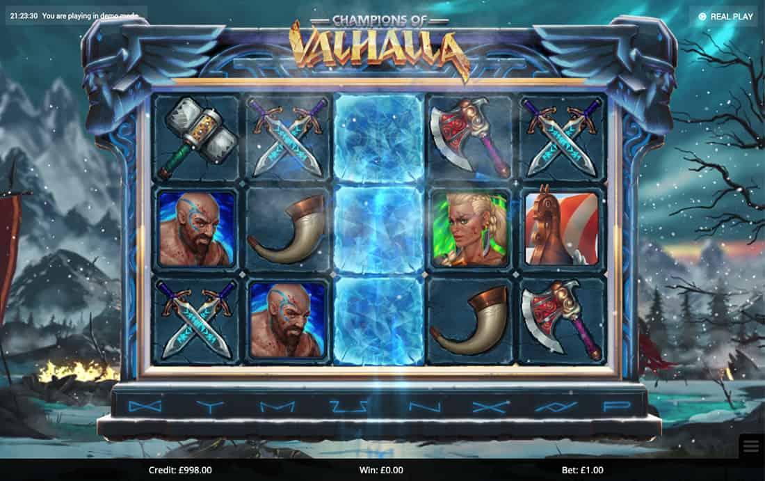 Champions Of Valhalla Slot Bonus
