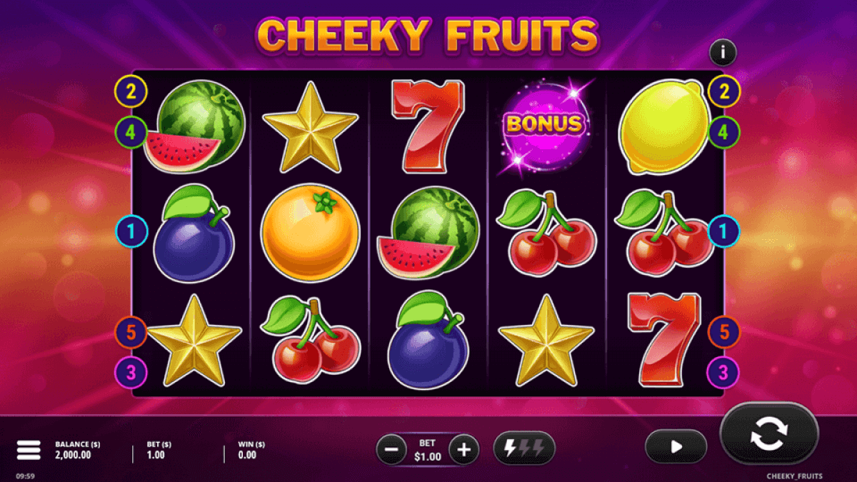 Cheeky Fruits Slot Bonus