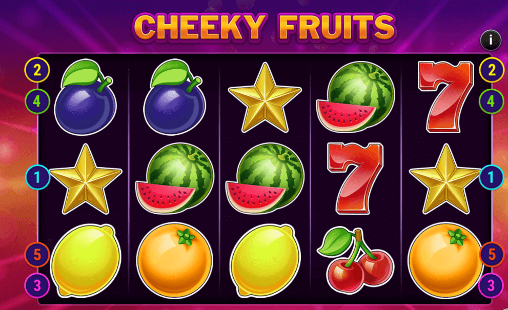 Cheeky Fruits Slot Gameplay