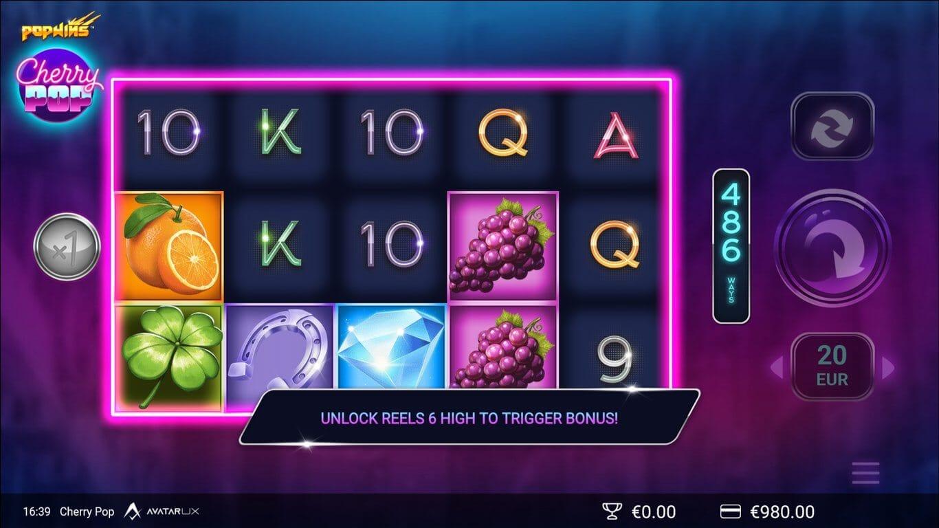 Cherry Pop Slot Gameplay