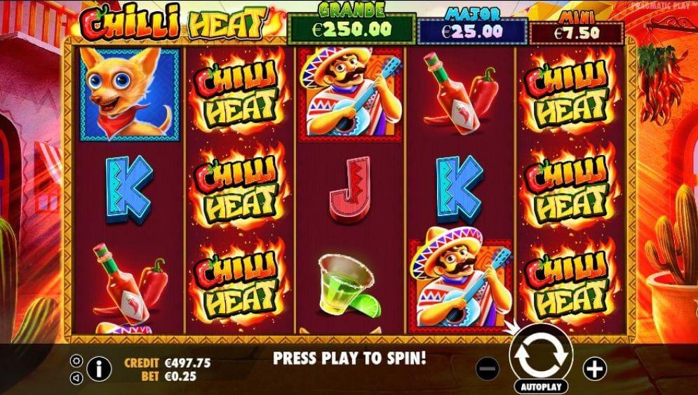 Chilli Heat Slot Gameplay