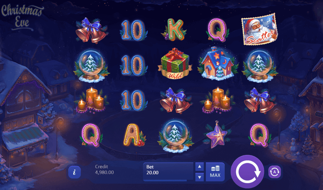 Christmas Eve Slot Gameplay