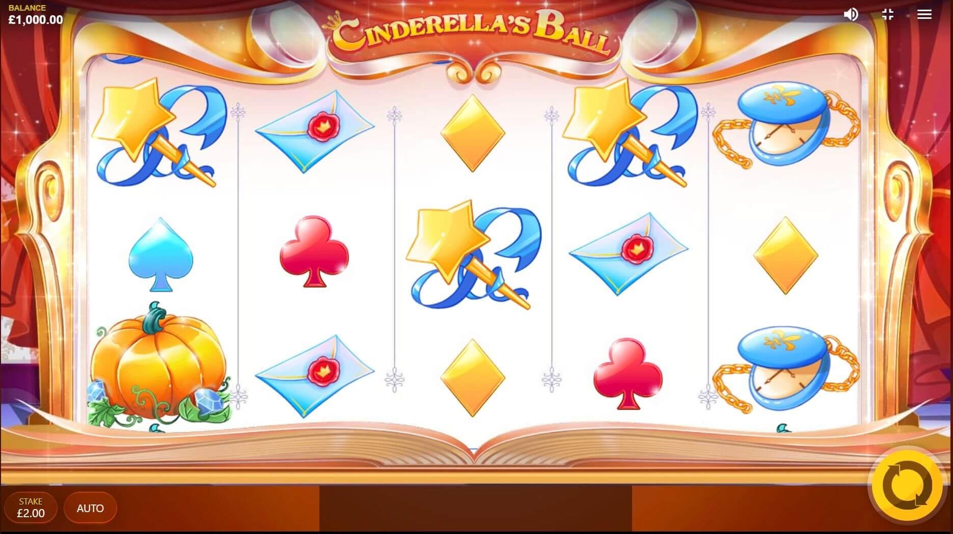 Cinderella's Ball Slot Gameplay