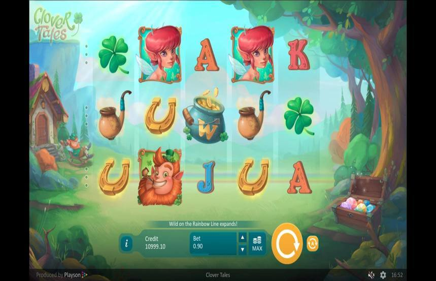 Clover Tales Slot Gameplay