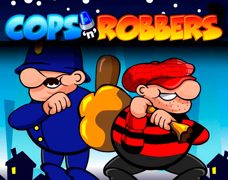 Cops and Robbers Slot Logo