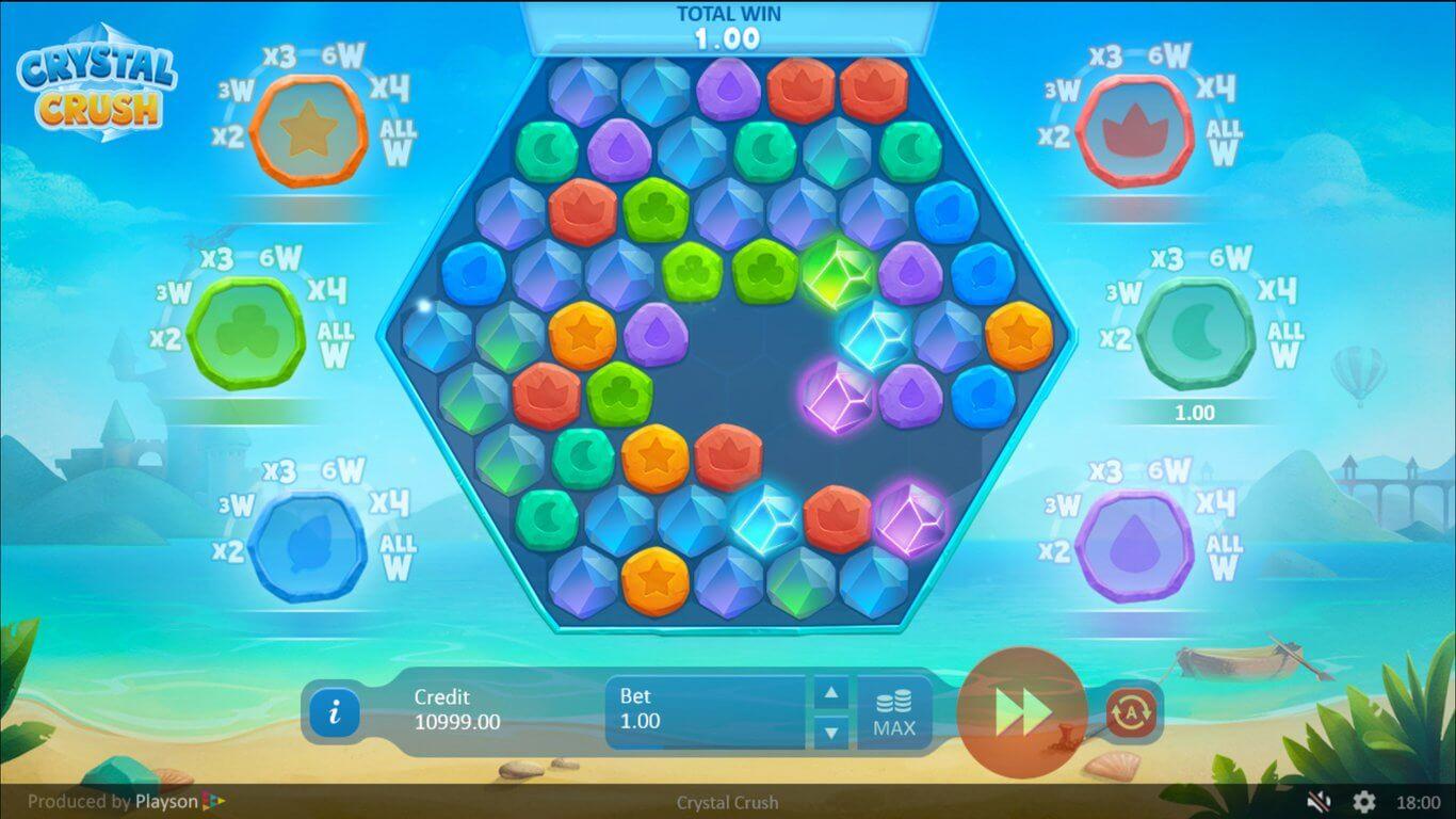 Crystal Crush Slot Bonus