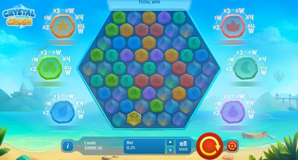 Crystal Crush Slot Gameplay