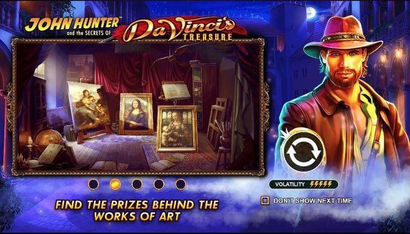 Da Vinci's Treasure Bonus