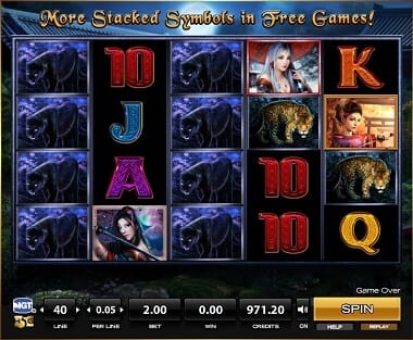 Dangerous Beauty Slot Bonus