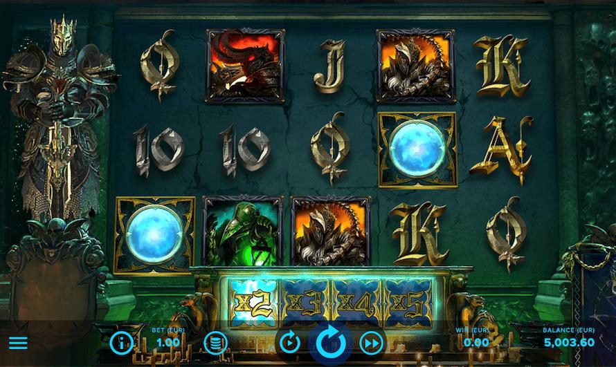 Dark King Forbidden Riches Slot Bonus