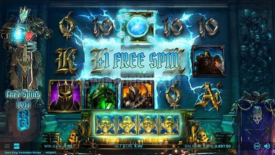 Dark King Forbidden Riches Slot Gameplay