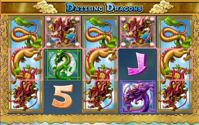 Dazzling Dragons Slot Bonus