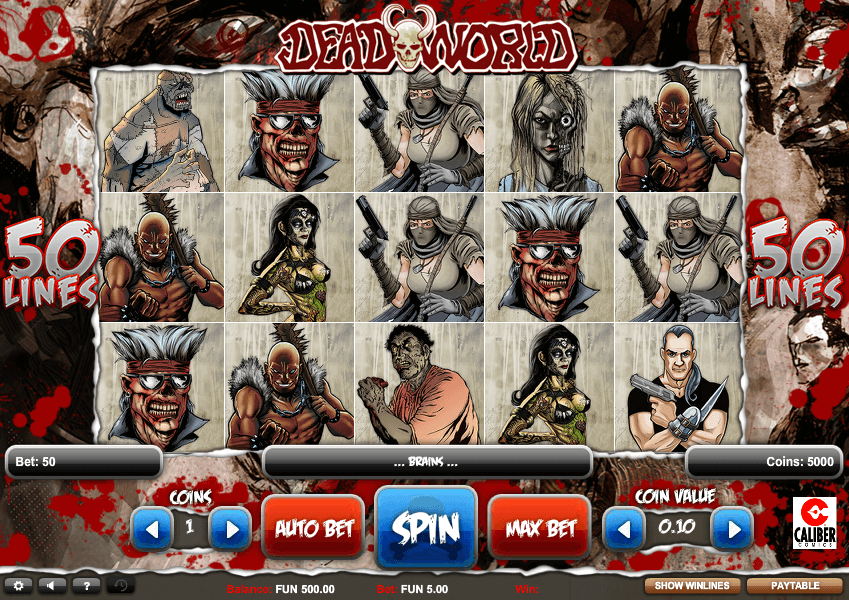 Deadworld Slot Bonus