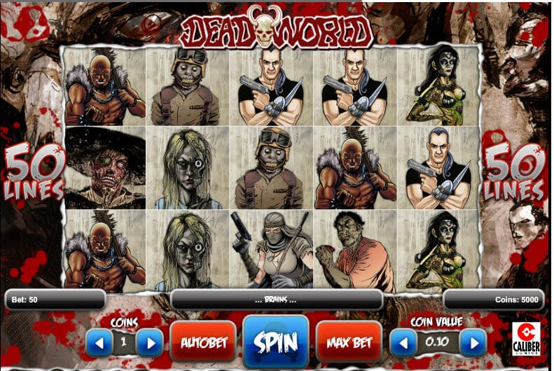 Deadworld Slot Gameplay