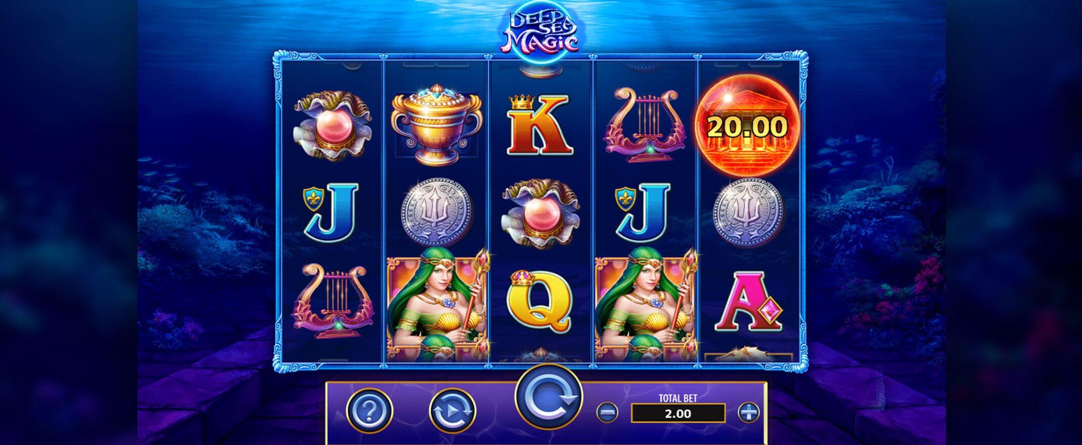 Deep Sea Magic Slot Gameplay