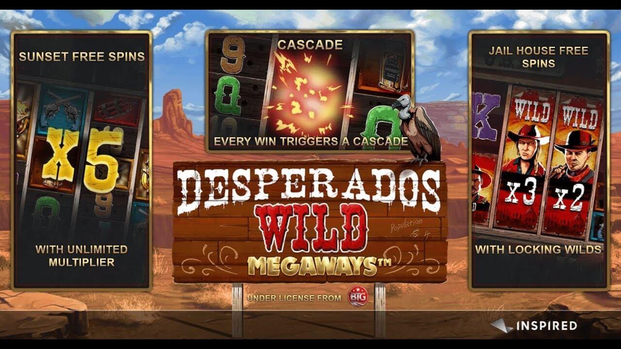 Desperados Wild Megaways Bonus