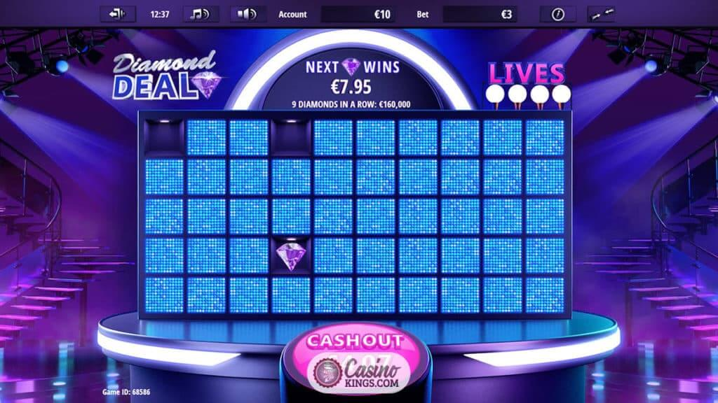 Diamond Deal Slot Bonus