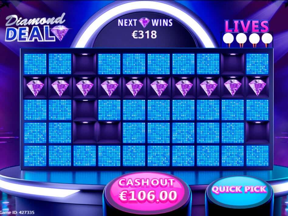 Diamond Deal Slot Gameplay