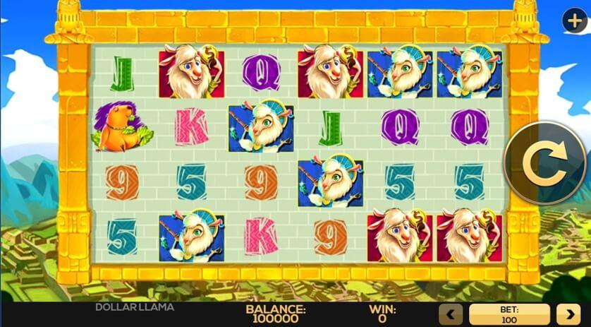 Dollar Llama Gameplay