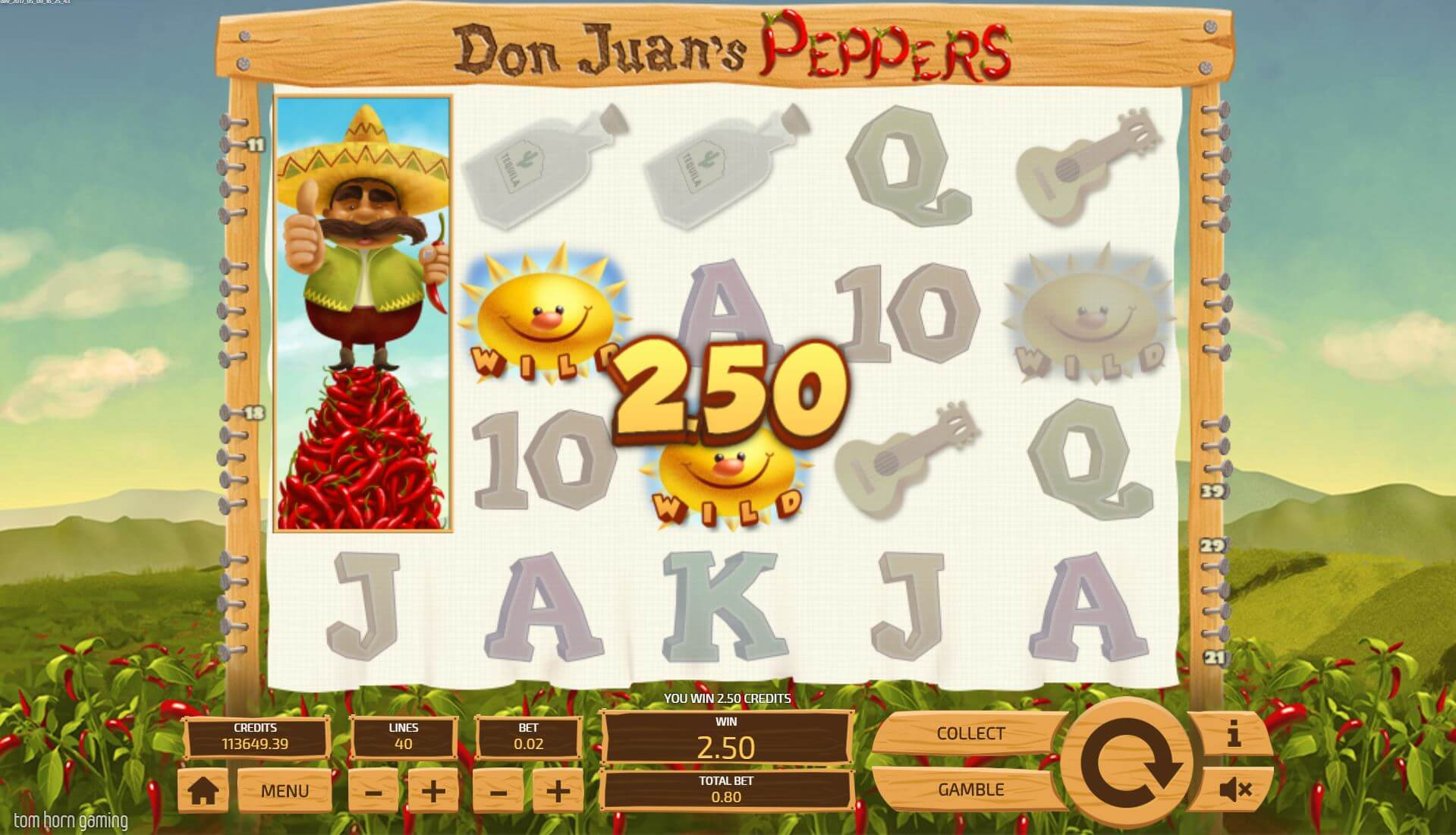 Don Juans Peppers Gameplay