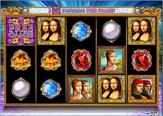 Double Da Vinci Diamonds Gameplay