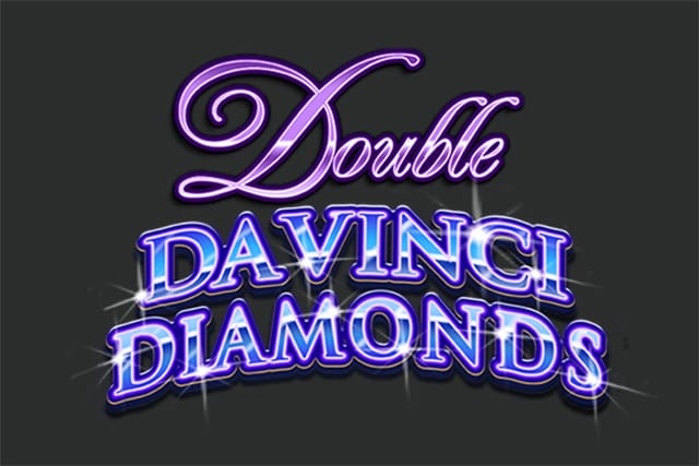 Double Da Vinci Diamonds Slot Logo
