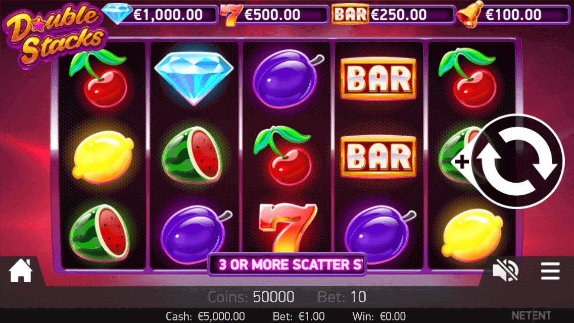 Double Stacks Slot Gameplay