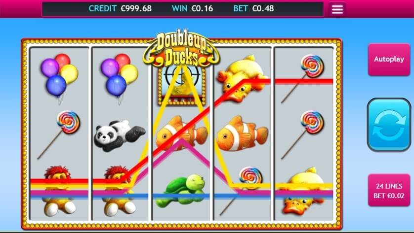 Doubleup Ducks Slot Bonus