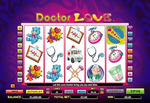 Dr Love Slot Gameplay