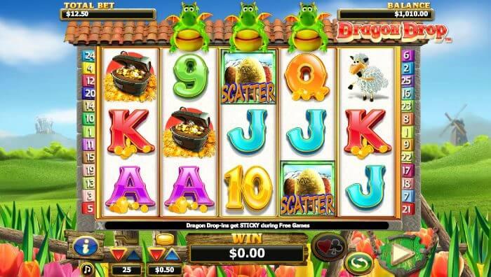 Dragon Drop Slot Gameplay