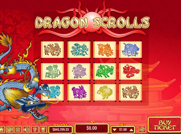 Dragon Scrolls Slot Gameplay