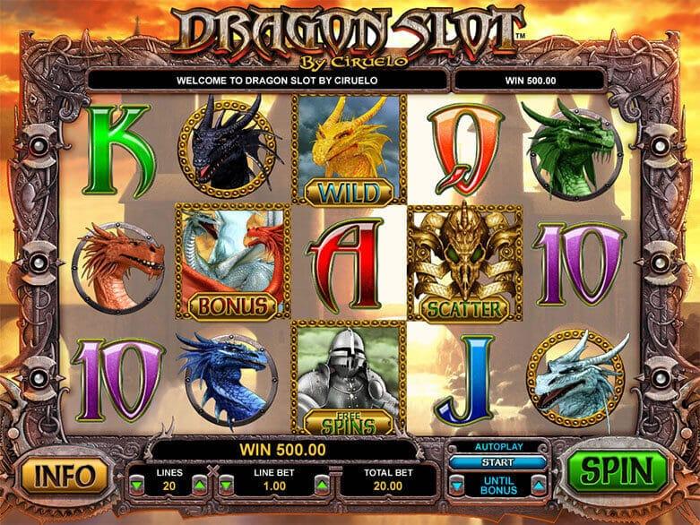 Dragon Slot Bonus