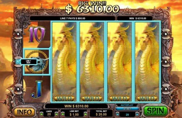 Dragon Slot Gameplay